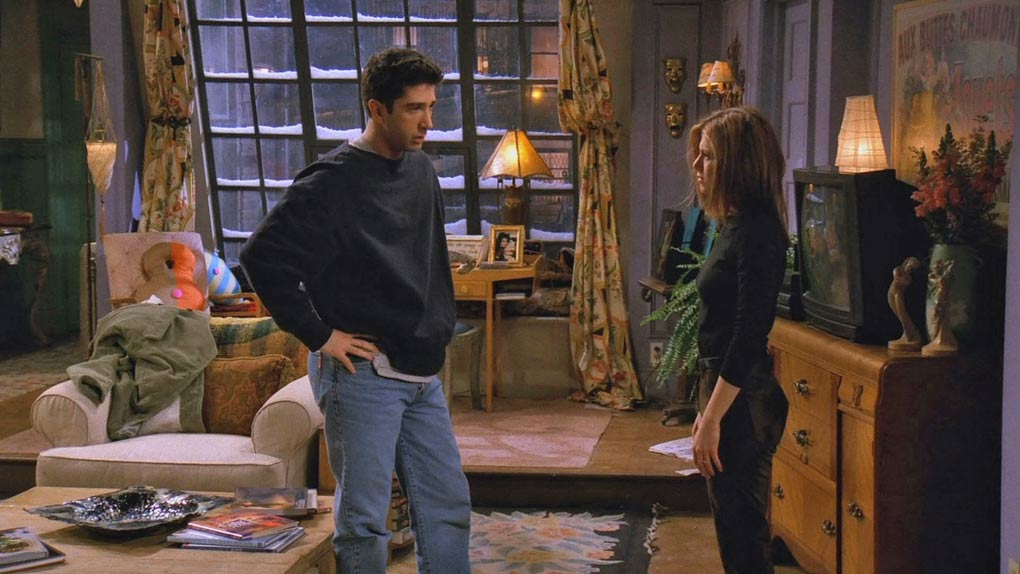 Ross & Rachel dans Friends