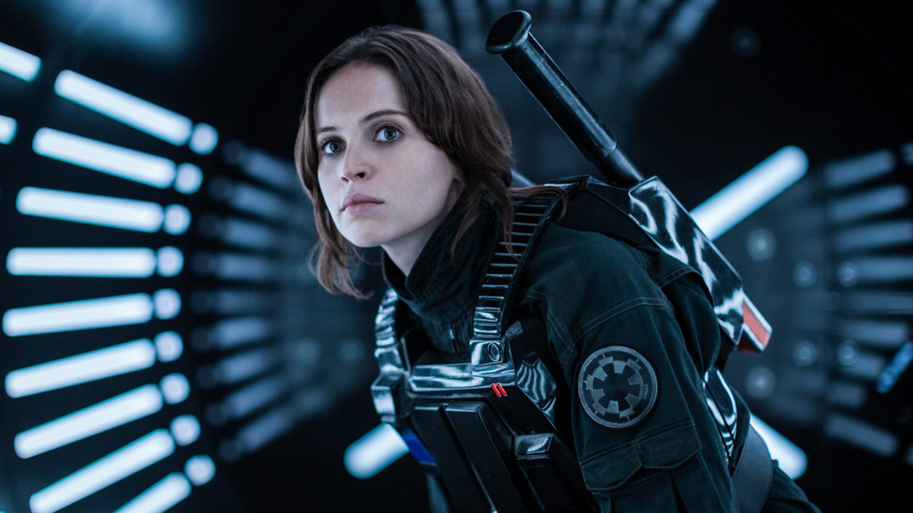 "Felicity Jones dans ""Rogue One"""