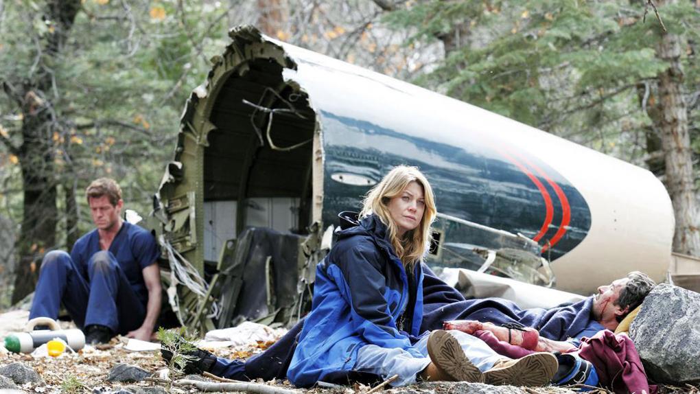 Grey's Anatomy : le crash d'avion