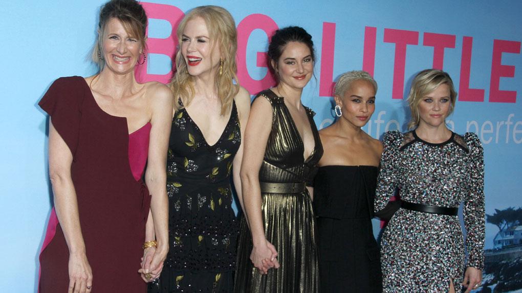 Laura Dern, Nicole Kidman, Shailene Woodley, Zoe Kravitz et Reese Witherspoon réunies pour l'avant-première