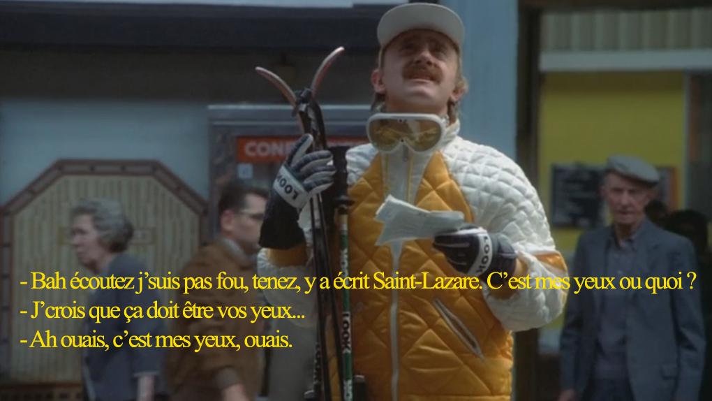 Jean-Claude Dusse, aucun sens de la géographie...