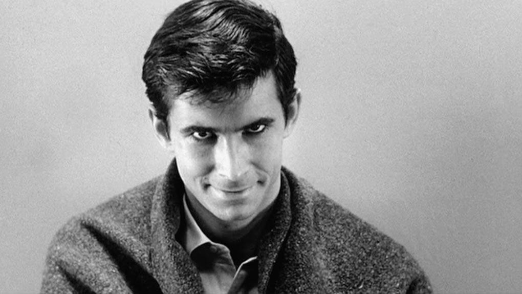 Anthony Perkins dans Psychose et Psychose II, III et IV