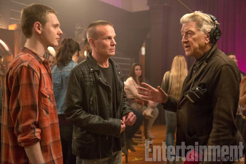 David Lynch dirige James Marshall (James Hurley) et Jake Wardle