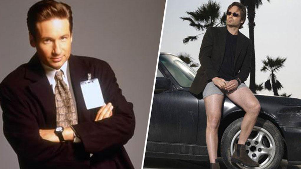 Fox Mulder (X-Files) de 1993 à 2002 / Hank Moody (Californication) de 2007 à 2014