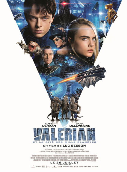 N°2 - Valérian et la Cité des mille planètes : 358 438 entrées