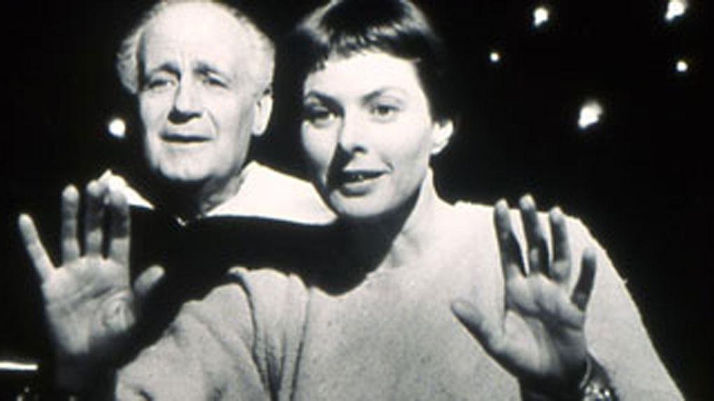 """Ingrid Bergman dans """"Jeanne au bûcher"""" de Roberto Rossellini (1954)"""