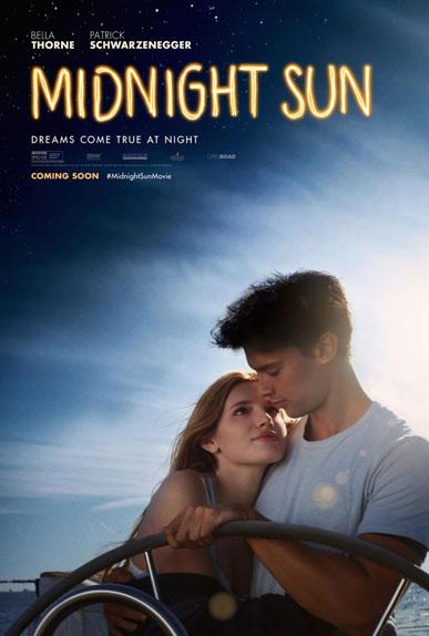 Midnight Sun de Scott Speer avec Bella Thorne, Patrick Schwarzenegger, Rob Riggle...