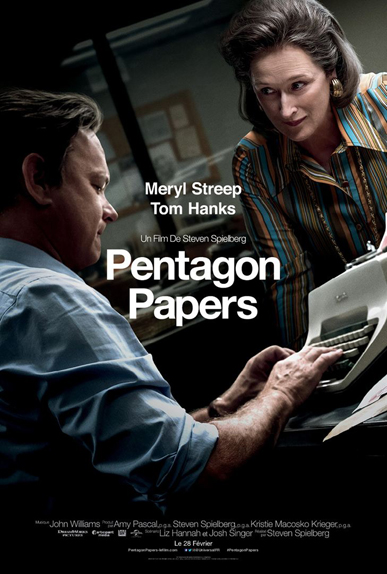 Pentagon Papers - 6 nominations