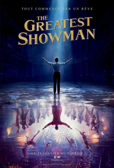 The Greatest Showman - 3 nominations
