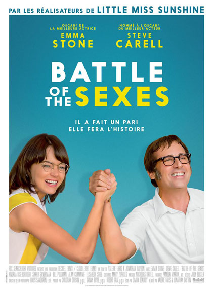 Battle of the Sexes - 2 nominations