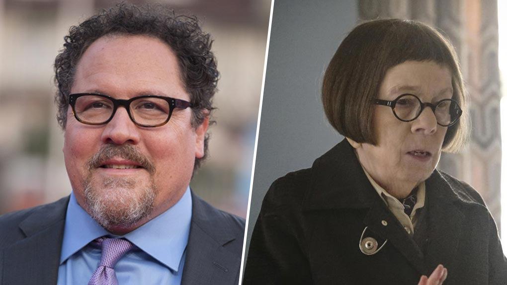 Jon Favreau et Linda Hunt