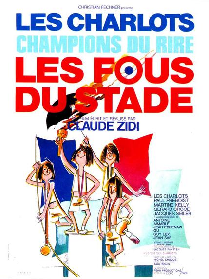 11 - Les Fous du stade (1972)