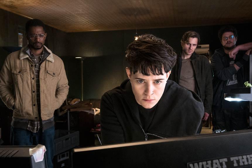 Millenium : Ce qui ne me tue pas avec Claire Foy, Sverrir Gudnason...