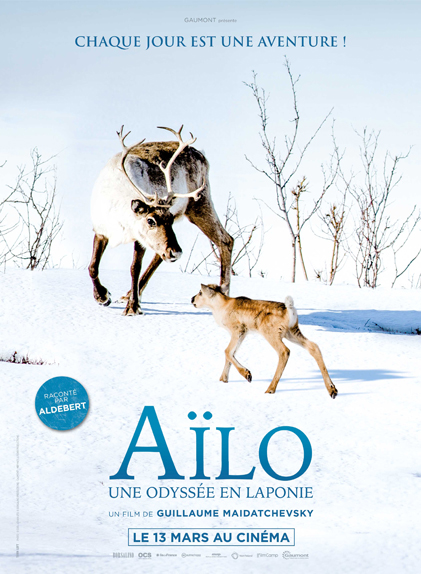 Aïlo : une odyssée en Laponie de Guillaume Maidatchevsky.