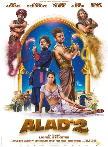 N°2 - Alad'2 : 382 179 entrées
