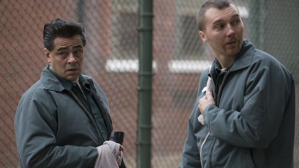 Richard Matt (Benicio del Toro) et David Sweat (Paul Dano)