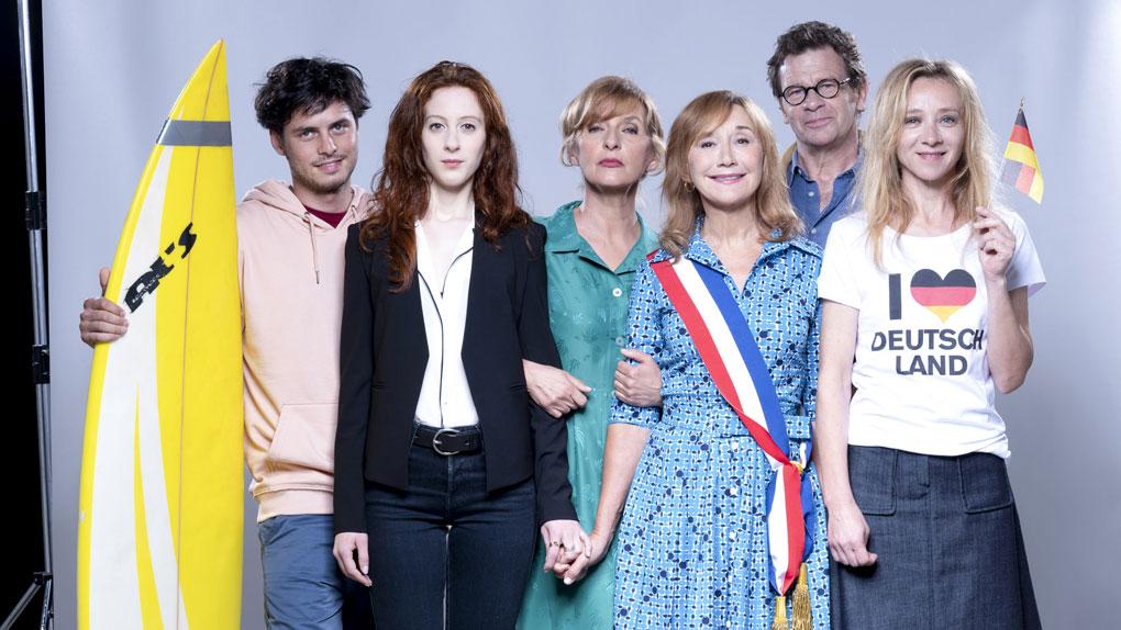 Matthieu, Chloé, Ghyslaine, Martine, Guillaume et Odile