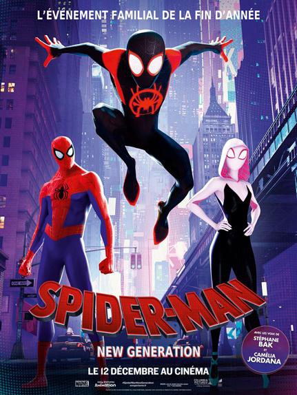 N°4 - Spider-Man: New Generation : 16,7 millions de dollars de recettes