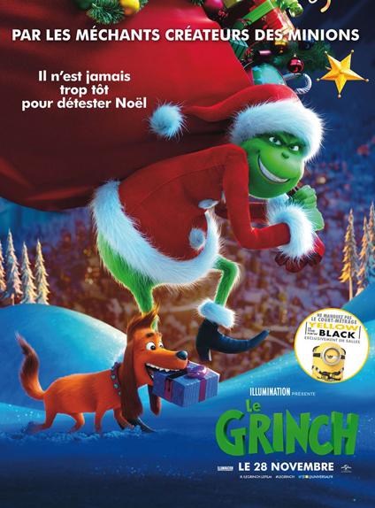 N°4 - Le Grinch : 332 089 entrées