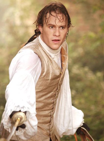 "Heath Ledger dans ""Casanova"" (2005)"
