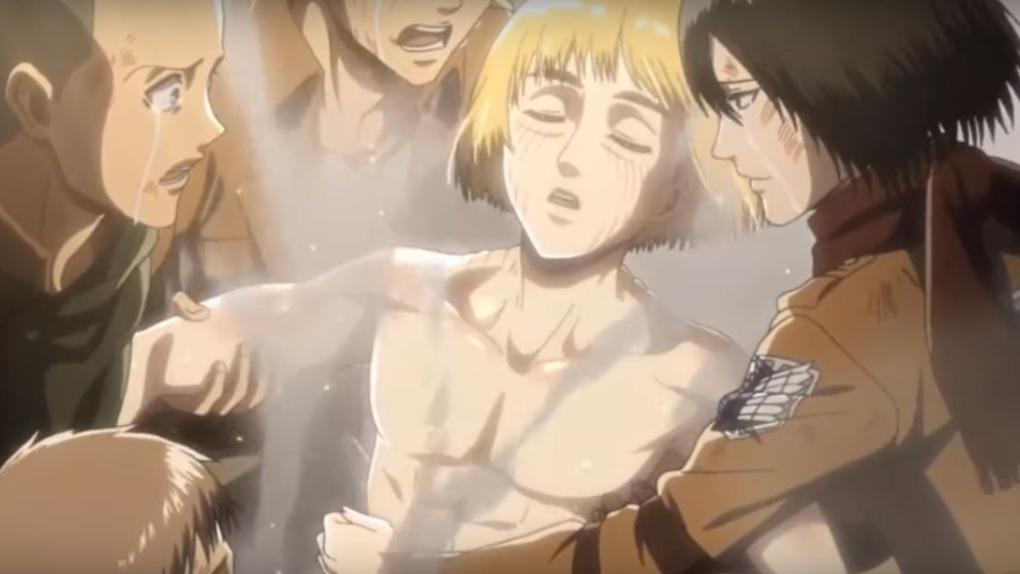Armin devient le Titan Colossal