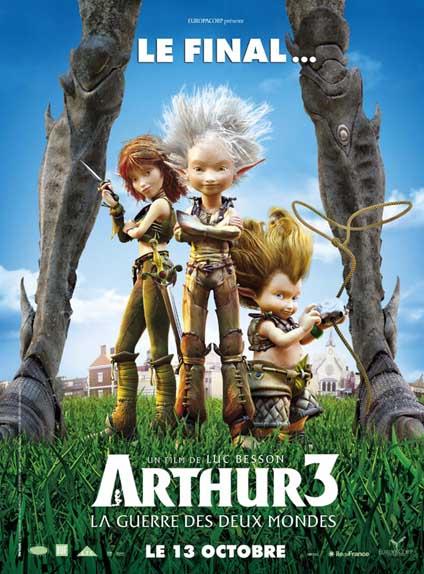15ème : Arthur 3 La Guerre des Deux Mondes - 2.597/5