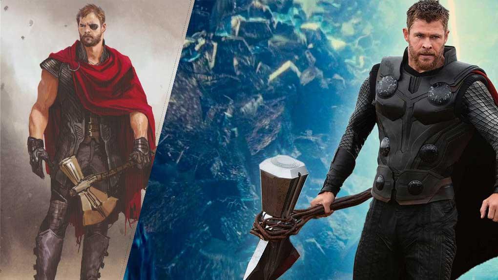Avengers : Infinity War (Thor)