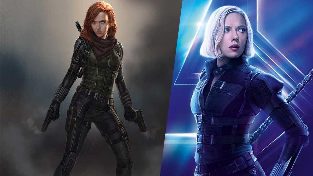 Avengers : Infinity War (Black Widow)