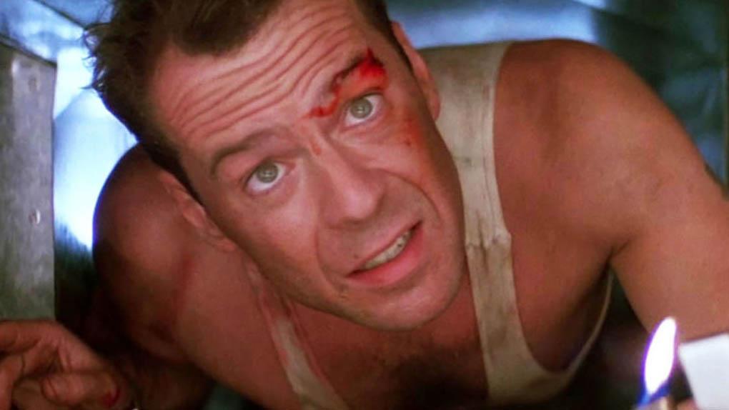 "John McClane dans ""Piège de cristal"""