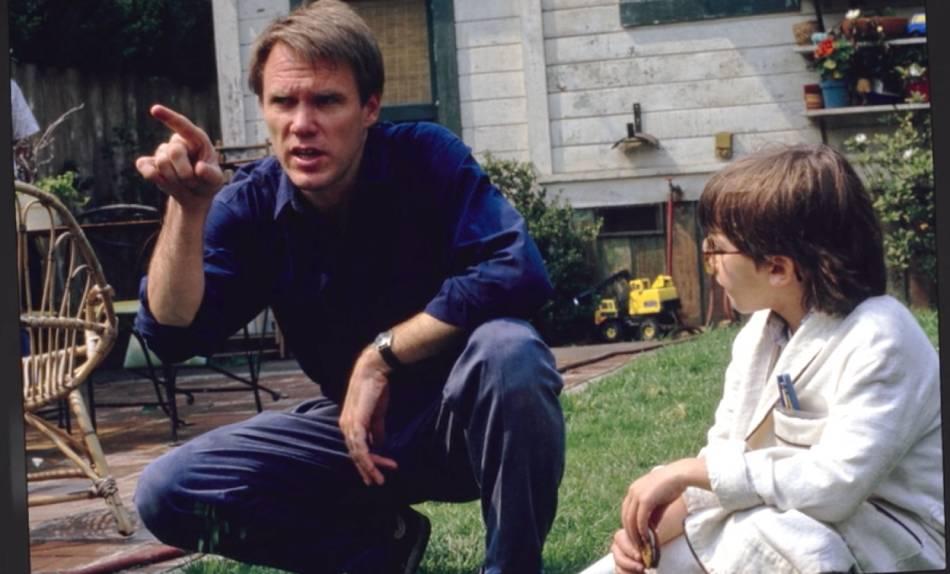 Bonus : le réalisateur Joe Johnston avec Robert Oliveri