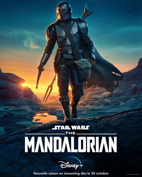 The Mandalorian saison 2 : une bande-annonce haletante et une première affiche dévoilées par Disney+ - AlloCiné