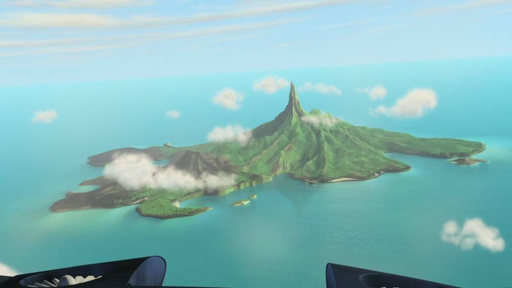 A quel film appartient cette île ?