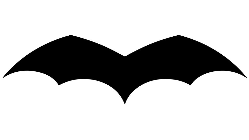 Premier symbole de Batman, en 1939