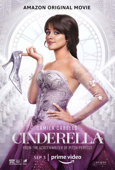 Cendrillon avec Camila Cabello, Nicholas Galitzine, Idina Menzel...