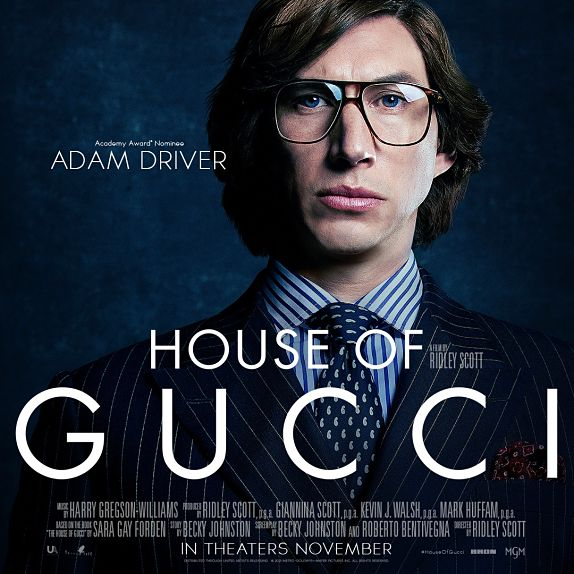 Adam Driver est Maurizio Gucci