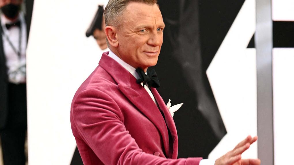 """Daniel Craig à la Première mondiale de """"Mourir peut attendre"""""""