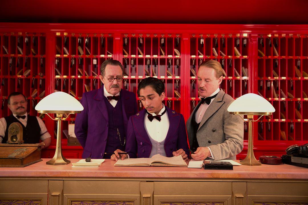 The Grand Budapest Hotel: Owen Wilson, Tony Revolori