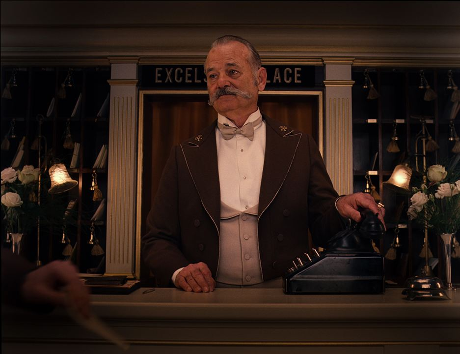 The Grand Budapest Hotel: Bill Murray
