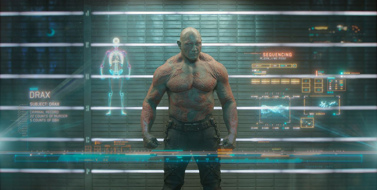 Les Gardiens de la Galaxie: Dave Bautista