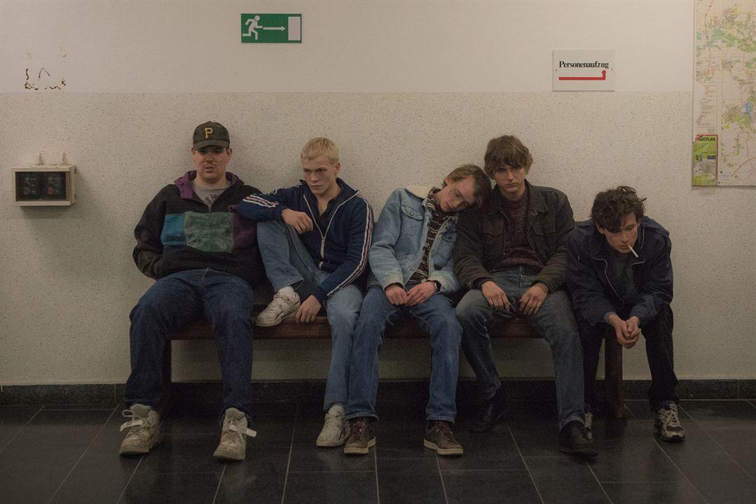 Le Temps des rêves : Photo Frederic Haselon, Joel Basman, Julius Nitschkoff, Marcel Heuperman, Merlin Rose