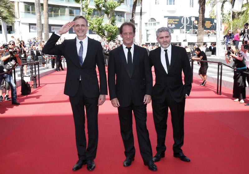 La Loi du marché : Photo promotionnelle Christophe Rossignon, Stéphane Brizé, Vincent Lindon