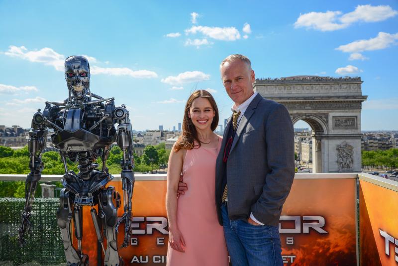 Terminator Genisys : Photo promotionnelle Alan Taylor, Emilia Clarke