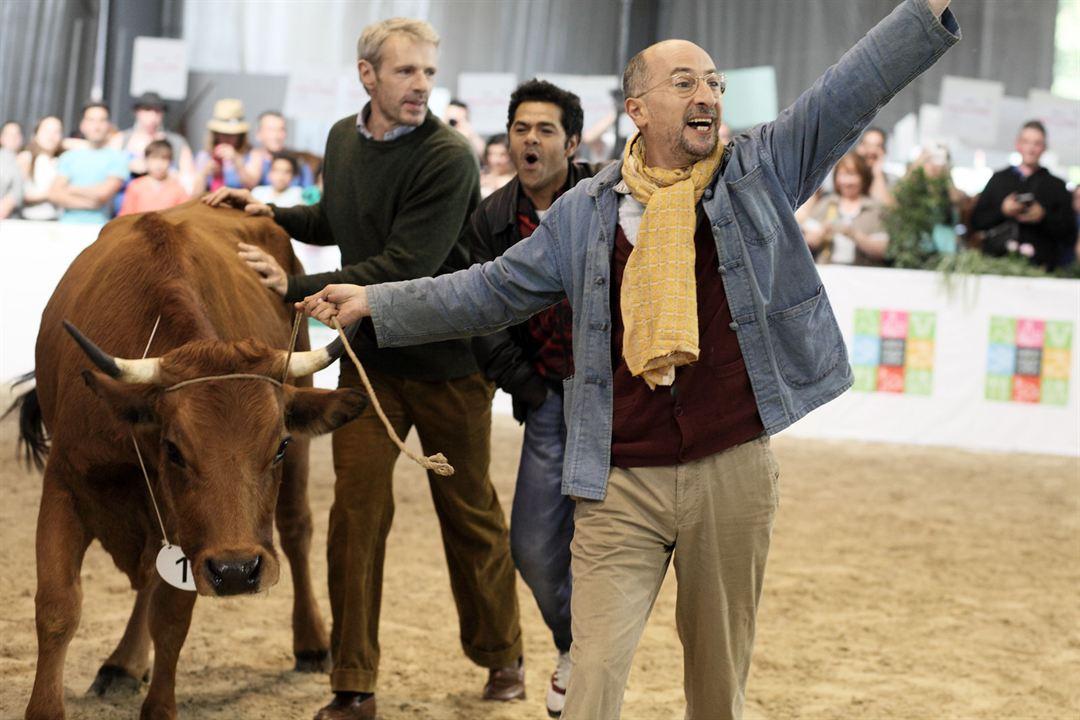 La vache : Photo Fatsah Bouyahmed, Jamel Debbouze, Lambert Wilson
