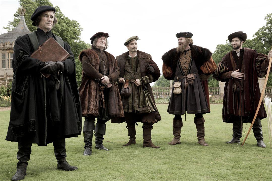 Photo Alastair Mackenzie, Bernard Hill, Luke Roberts, Mark Rylance, Richard Dillane