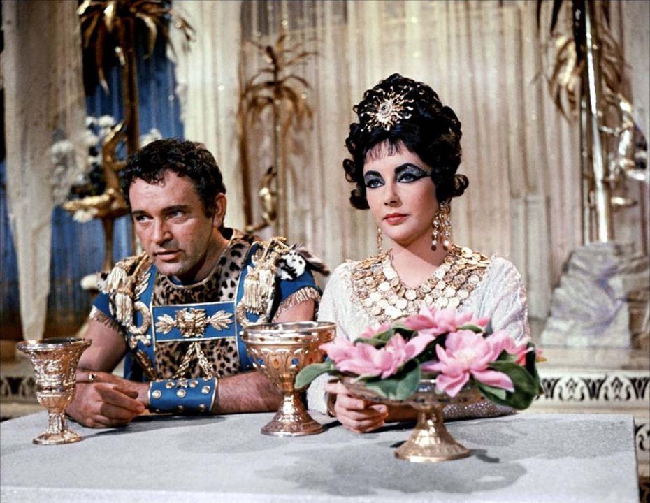 Cléopâtre : Photo Elizabeth Taylor, Richard Burton