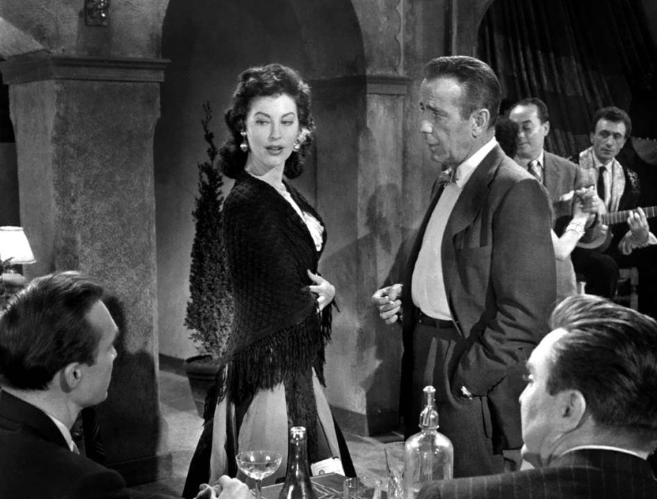 La Comtesse aux pieds nus : Photo Ava Gardner, Humphrey Bogart