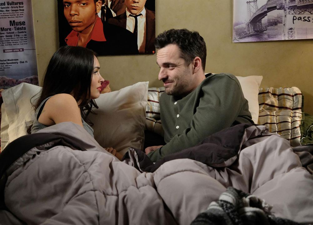 Photo Jake Johnson (XVI), Megan Fox