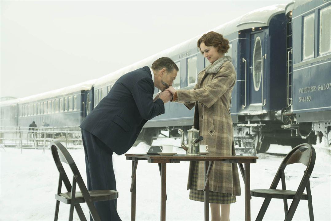 Le Crime de l'Orient-Express : Photo Daisy Ridley, Kenneth Branagh