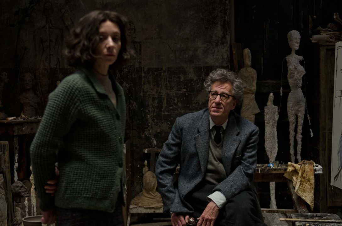 Alberto Giacometti, The Final Portrait : Photo Geoffrey Rush, Sylvie Testud