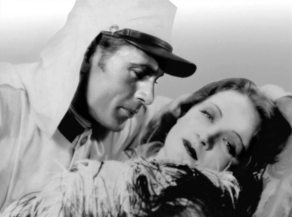 Morocco: Gary Cooper, Marlene Dietrich